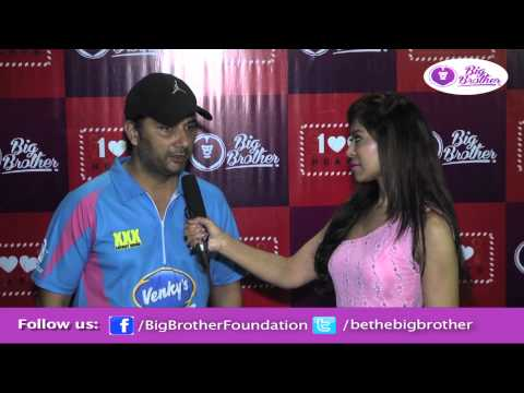 Interview with Varun Badola Actor at CCL- Big Brother Foundation