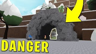 Do NOT Enter The Ice Cave! ❄️Snow Shoveling Simulator☃️   ROBLOX