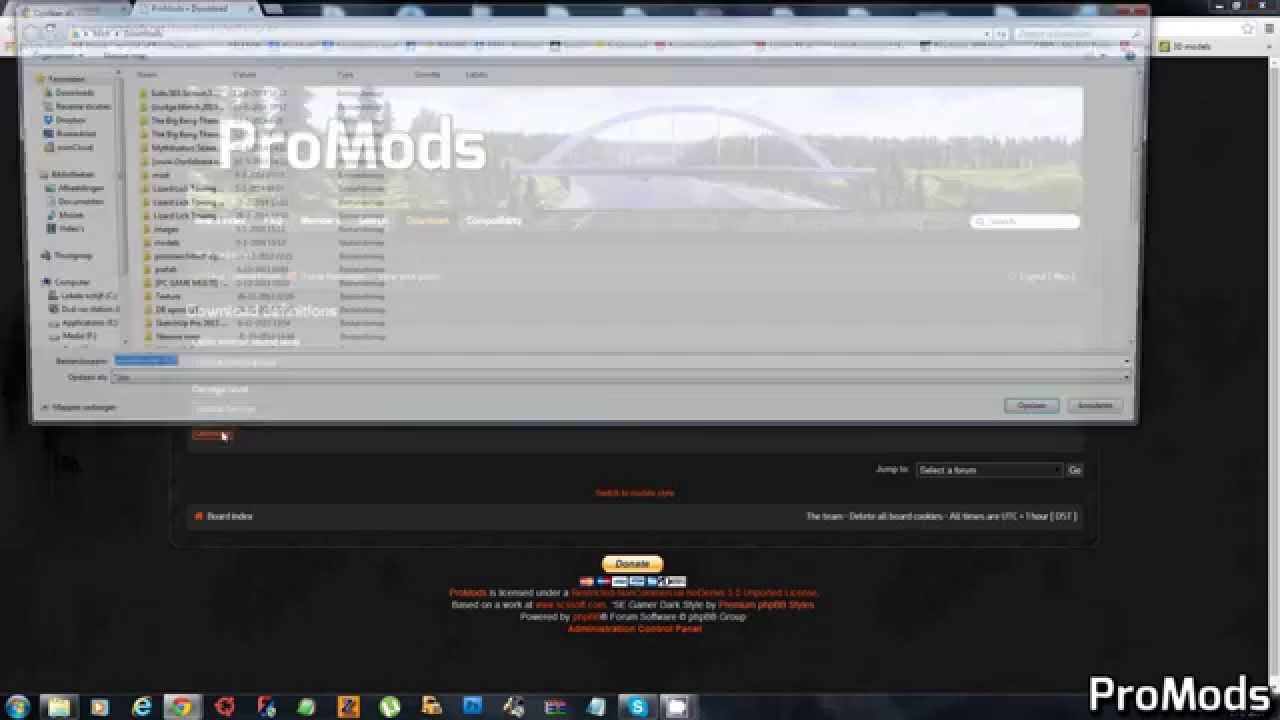 How to download the ProMods map expansion