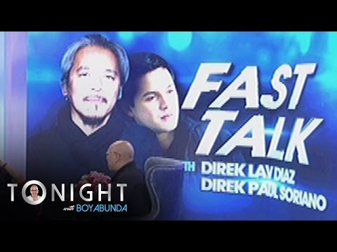 TWBA: Fast Talk with Lav Diaz and Paul Soriano