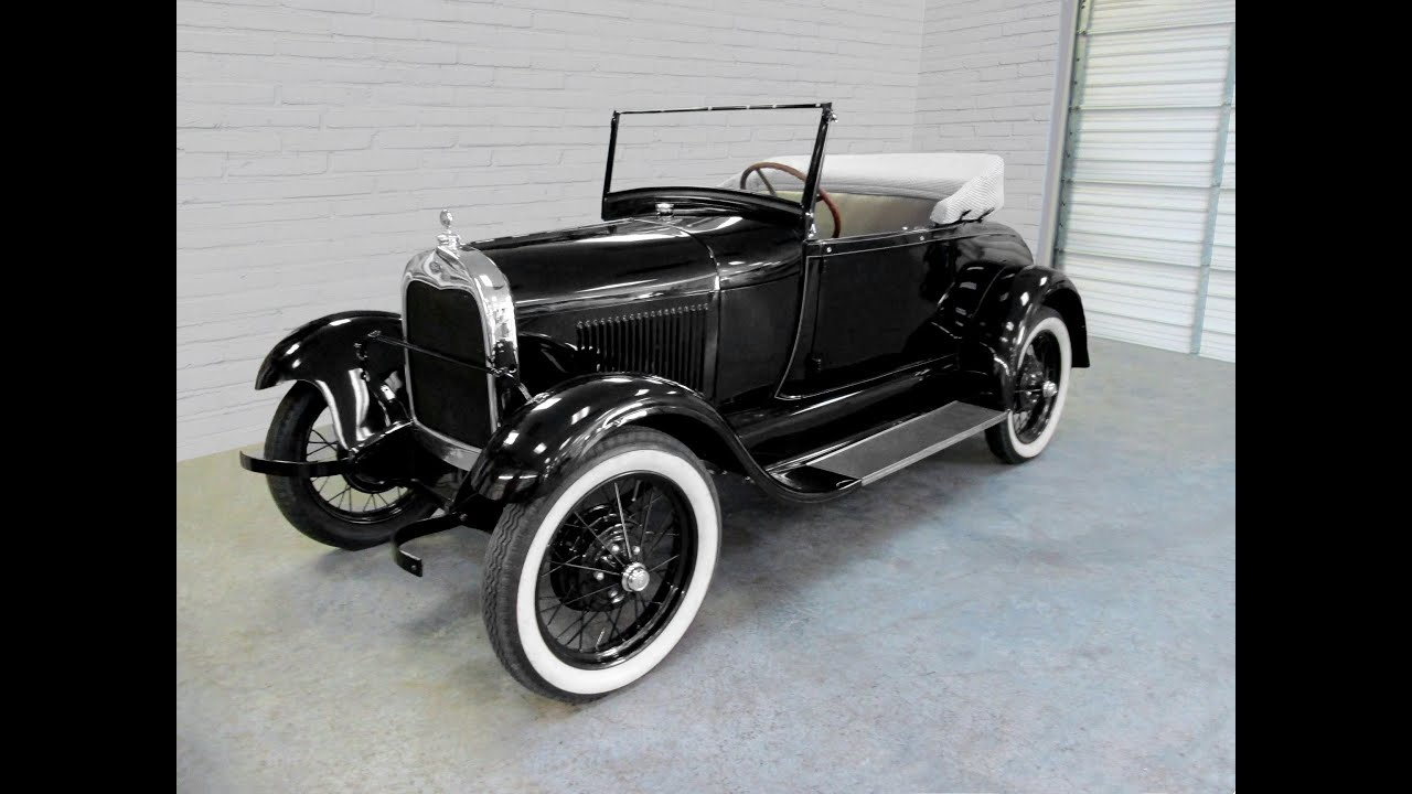 1928 Ford Model A by Paul's Custom Interiors/Auto Upholstery - YouTube