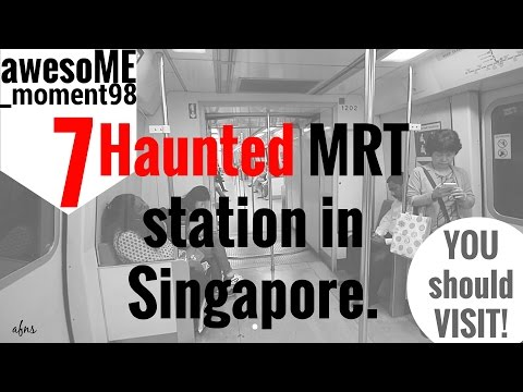 AFNS_awesoME_moment98 | Vlog (7 Haunted MRT di Singapore)