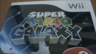 Super Mario Galaxy Wii Unboxing