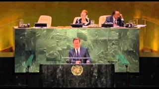 David Cameron UN Speech United Nations PM David Cameron ISIS UK Parliament Votes Approves Airstrikes