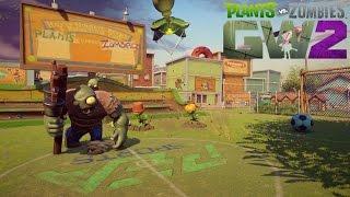 Plants vs. Zombies Garden Warfare 2 :  Gameplay Mode Front du Jardin