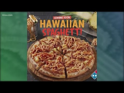 Sylvia Chacon - Domino's Reveals New Pineapple Spaghetti Pizza! WHAT?