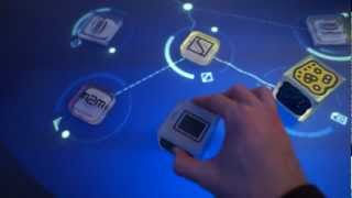 MWC 2012 Live: Интерактивный стол(На выставке Mobile World Congress можно было встретить такой интересный музыкальный стол которым можно управлять..., 2012-03-01T14:52:47.000Z)