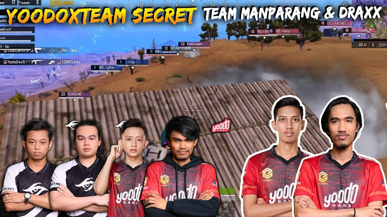 PASUKAN SUPERSTARS GABUNGAN ANTARA YOODO & TEAM SECRET MENENTANG PASUKAN MANPARANG | SCRIM