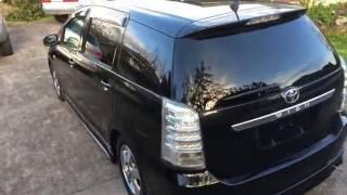 Toyota Wish 2005 Black * Body Kit