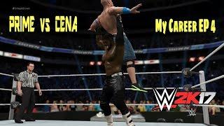 Atlas Prime vs John Cena - WWE 2K17 My Career Episode 4