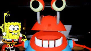 BoB Esponja jogando Five Nights at Krusty Krab (Siri Cascudo)