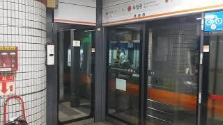 수도권 전철 3호선 독립문역 대화행 312편성 발차