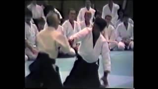 Aikido - Kisaburo Osawa Shihan - Shomen-uchi Ikkyo