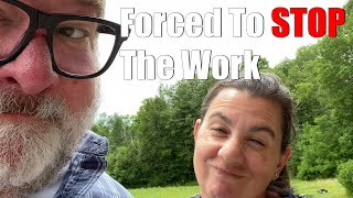 Forced To Stop Working | A Big Family Homestead VLOG