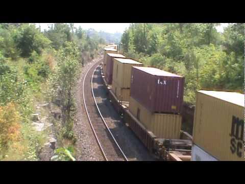 Railfanning Napanee Ontario - August 5 2010