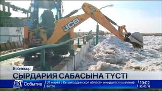 ТЖҚ Сырдариядан Арал теңізіне құйылуы тиіс сеңді бақылап жүр