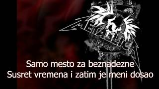 Metallica Astronomy Serbian lyrics