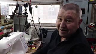швейная машина, оверлок Janome DC 4030 ремонт