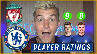 CHELSEA PLAYER RATINGS | LIVERPOOL 0-1 CHELSEA PLAYER RATINGS