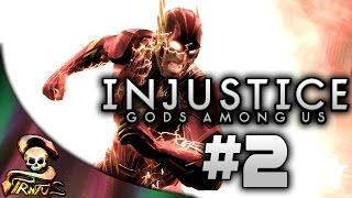 Injustice | Triple combate - El ciclado contra flashxxter - Como revienta Catwoman | Stratusferico
