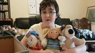 Vintage Toy Box - Womble, Gromit and Noddy!