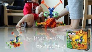 【開箱】Techno Gears Bionic Bug Unboxing S.T.E.M Toy !  仿生機器蟲開箱