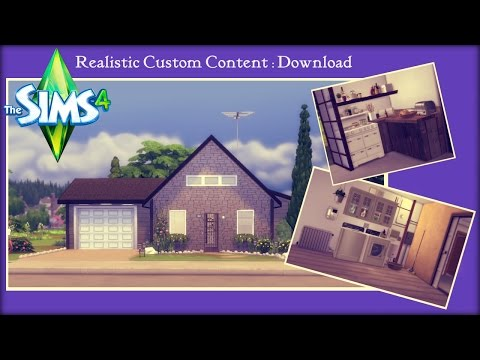The Sims 4 : Realistic Custom Content : Download