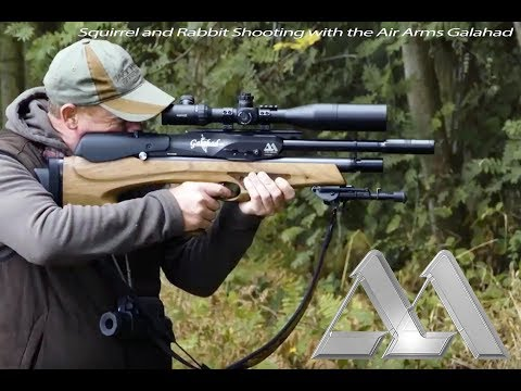 Squirrel and Rabbit Shooting with the Air Arms Galahad