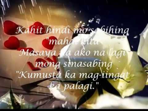 """Pag Ibig Ko Sa Iyo Di Magbabago by: Men Oppose """"fhe estoque"""" (with lyrics)"""