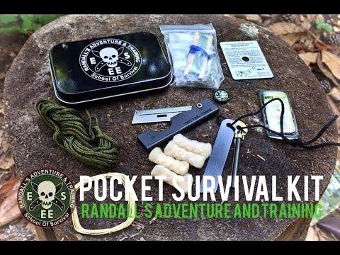 NEW!! ESEE Pocket Survival Tin/Kit