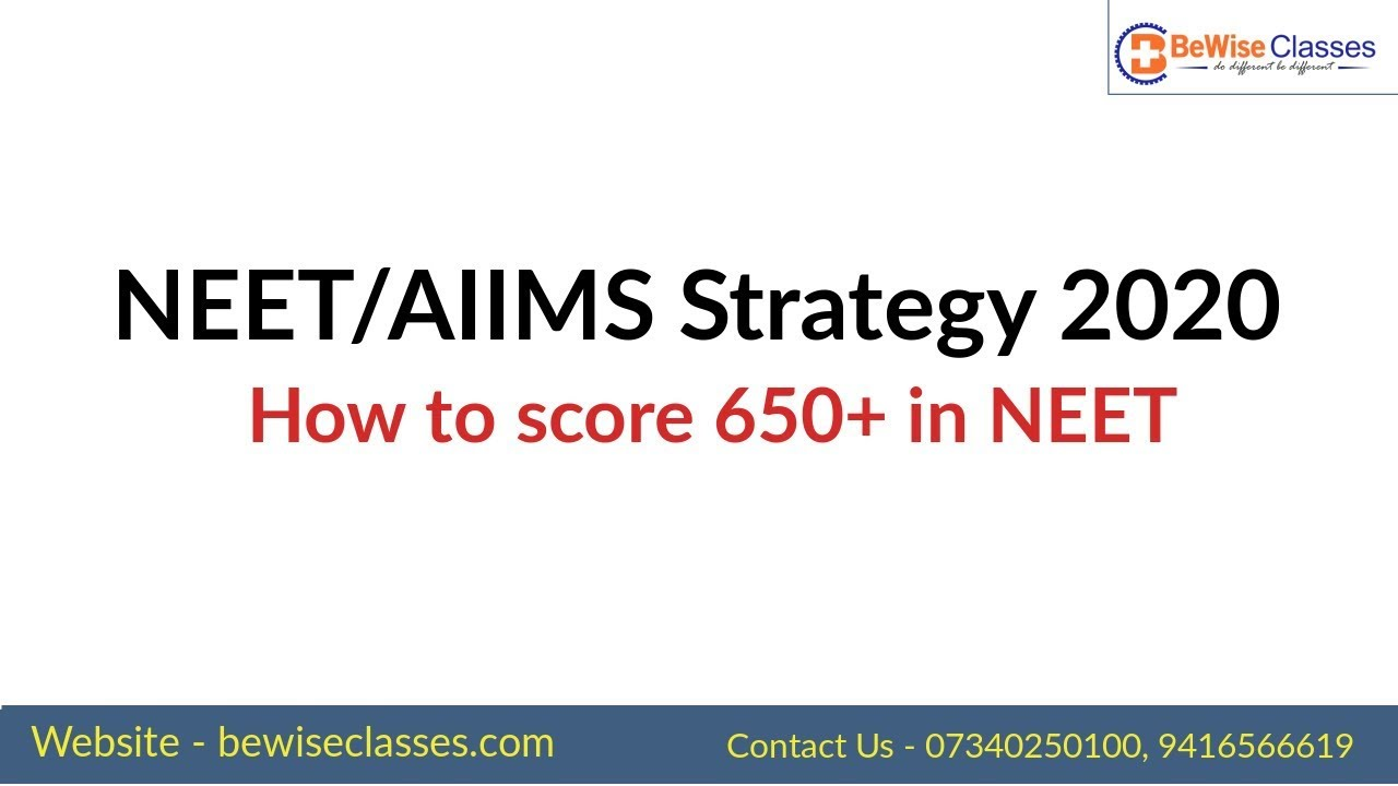 Best Book 2020 NEET/AIIMS Target 2020 and Important Books Must Watch   YouTube