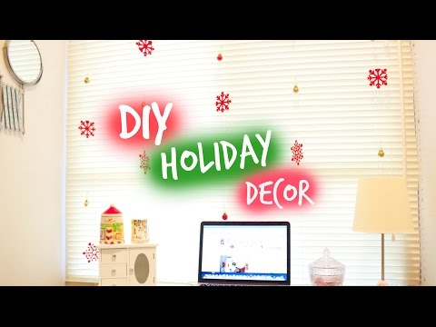 DIY Holiday decor | Mobile de Natal ☃