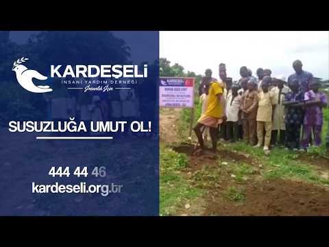 Merhum Gökçe Aykut Şadırvanlı Su Kuyusu - Afrika Nijerya