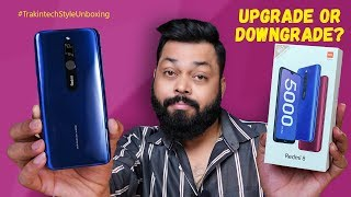 Redmi 8 Unboxing And First Impressions ⚡ ⚡ ⚡ Upgrade Ya Downgrade?? जानिए सबकुछ