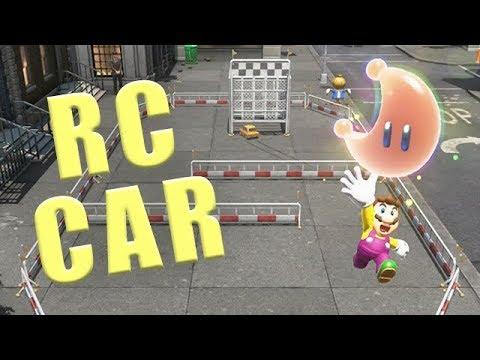 How To Start The Metro Kingdom Rc Car Race Super Mario Odyssey