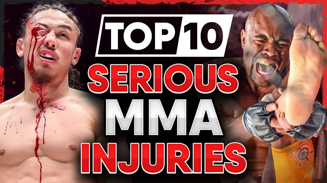 10 MMA Fighters who got SERIOUSLY Hurt (Part 4)