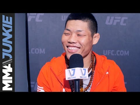 Li Jingliang looking forward to what should be an exciting fight at UFC Fight Night 111