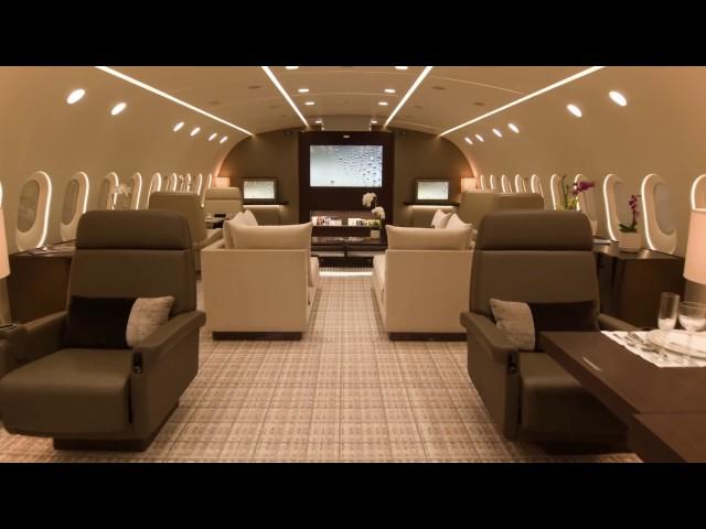 OVAKO IZGLEDA PRVI PRIVATNI BOING 787: Ljudi, ovo je leteći hotel sa 5 zvezdica