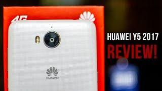 Huawei Y5 2017 Review!