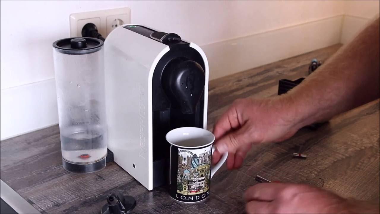 Nespresso Krups Xn250 Reparatur Auslaufduese Repair Of Outlet