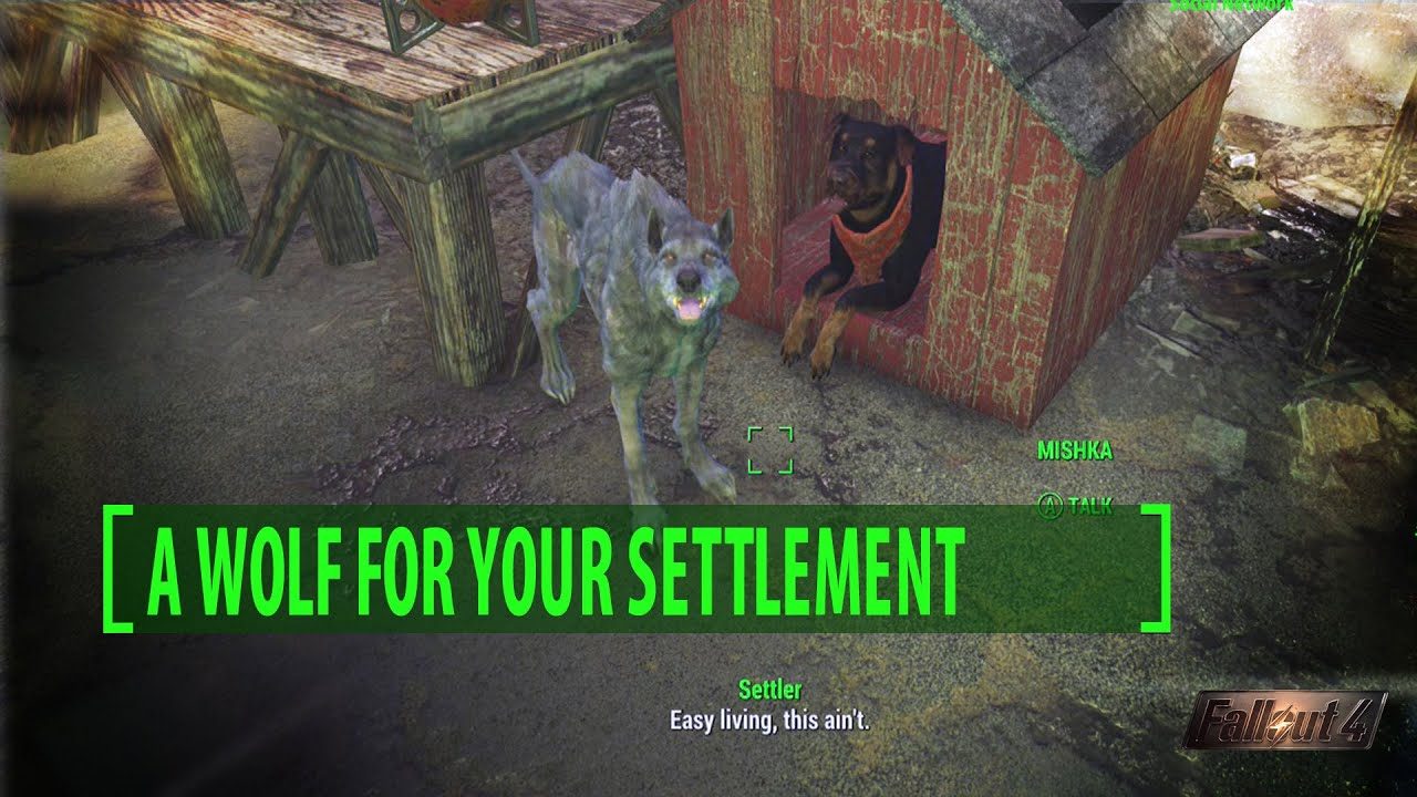 Far Harbor: A Wolf for Your Settlement