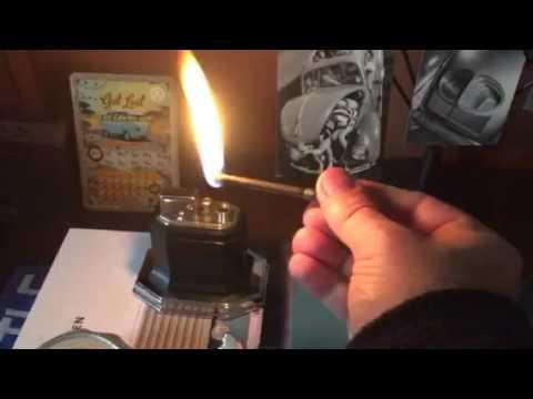 Ronson Octette Touch Tip Lighter Youtube