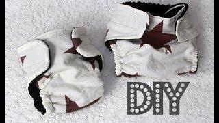 DIY Как сшить многоразовый подгузник для ребенка своими руками + Построение выкройки