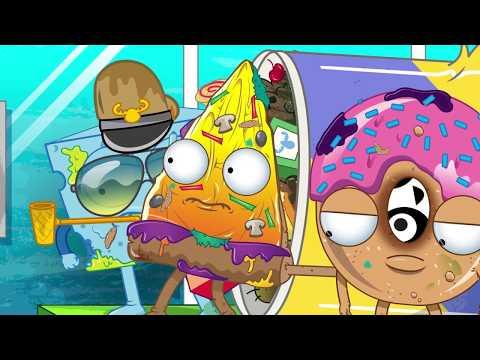 Grossery Gang Cartoon | BOOGER MONSTER | Cartoons for Children