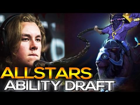 Pro ALLSTARS Ability Draft Elimination Mode Troll Dota 2