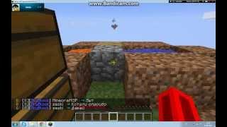 Крутой сервер Sky Bloks. Начало. 1 серия* Как создать остров? Ка добавить друга на остров?