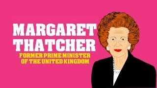 Margaret Thatcher (Cartoon Biography for Kids) Educational Videos for Students Network (CN)