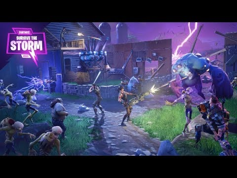 FORTNITE - SAVE THE WORLD - FIRST PLAY - YouTube