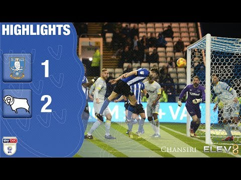 Sheffield Wednesday 1 Derby County 2 | Extended highlights | 2018/19