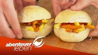 Pommes Burger & Spaghetti-Taco! Hybrid Food ist der neue Food-Trend | Abenteuer Leben | kabel eins